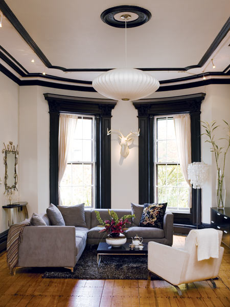 One Great Room Living Color Boston Magazine