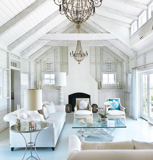 Nantucket house design - House interior