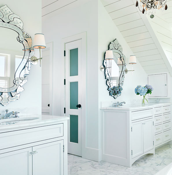 Master Bath in Nantucket Home