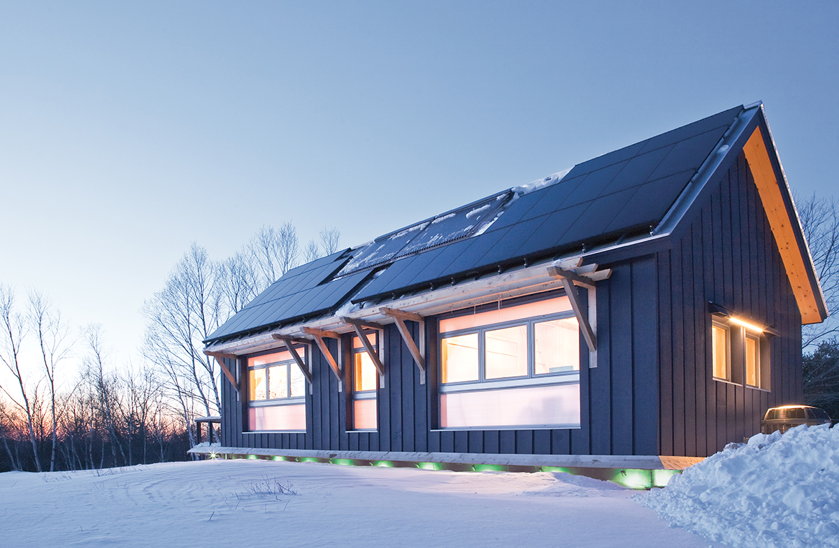BrightBuilt Barn goes green