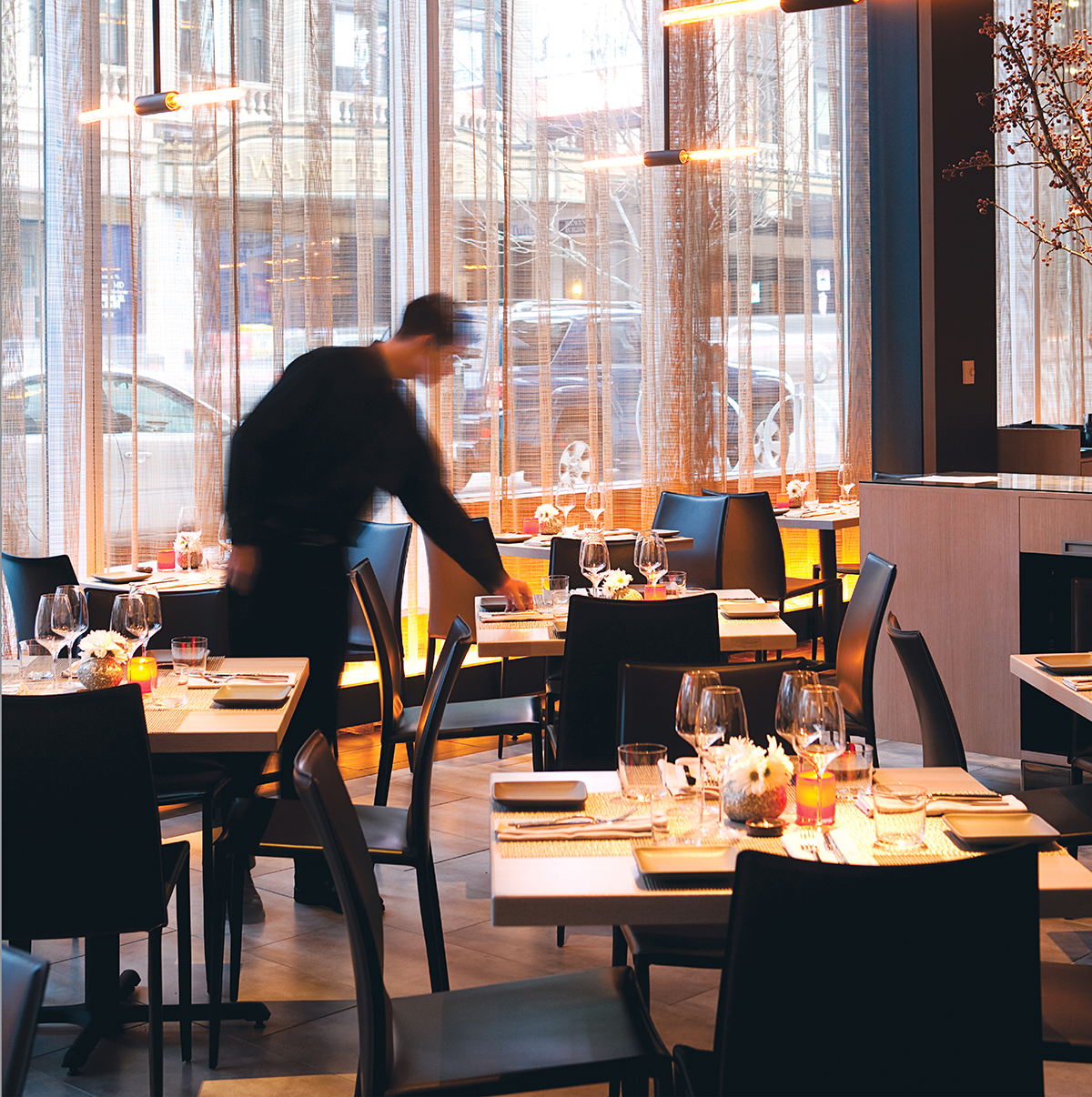 Market by Jean-Georges in the W Hotel. Photograph by Keller + Keller.