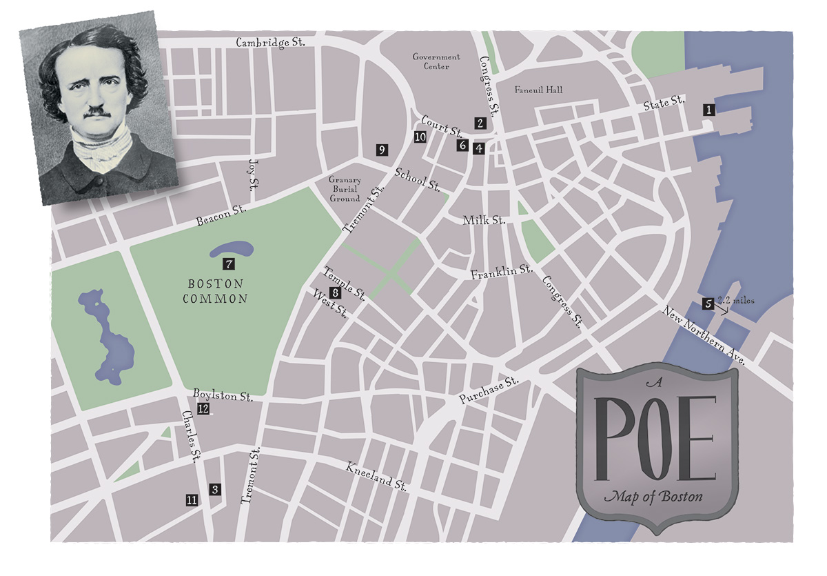 Touring Poe's Boston