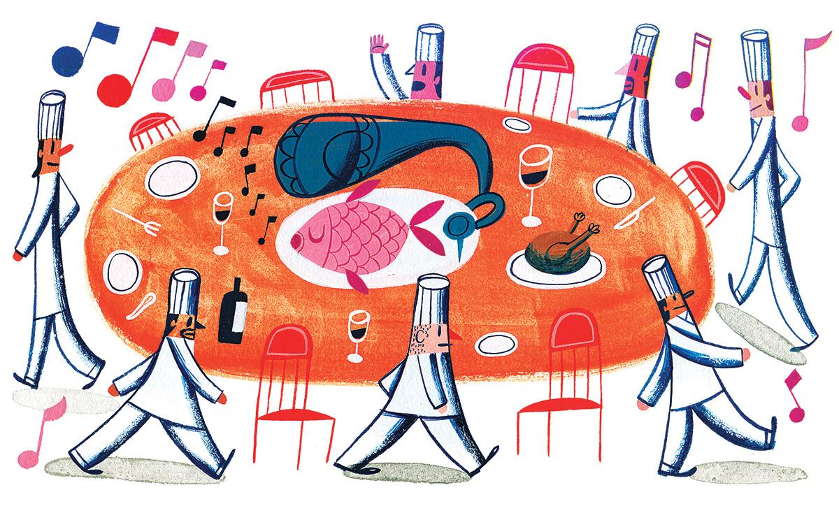 Tastemaking the Chef Swap