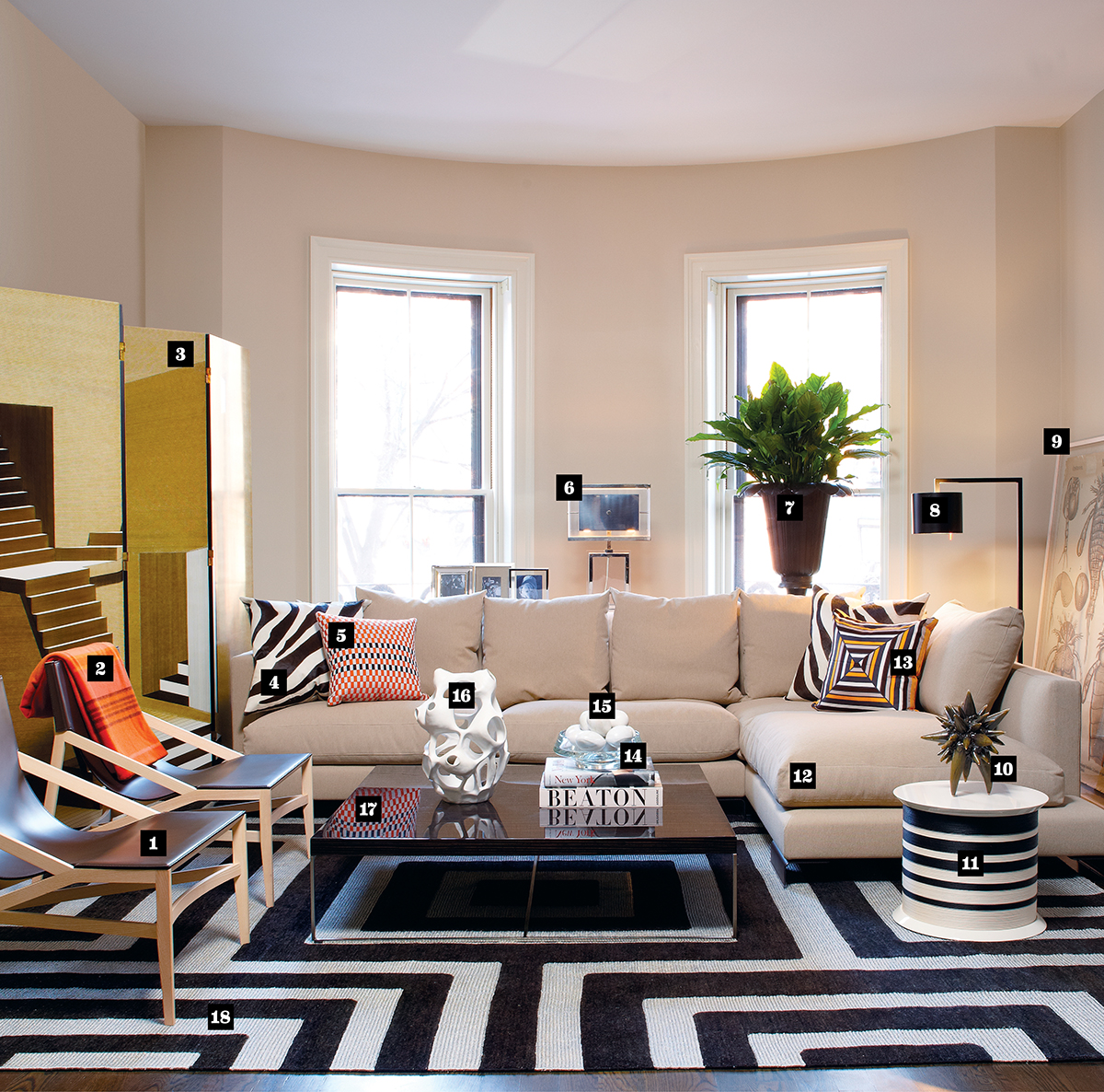 Amanda Hark And Jeffrey Osborne Of Interior Design Find Two Ways To Style A South End Living Room One Extravagant Affordable