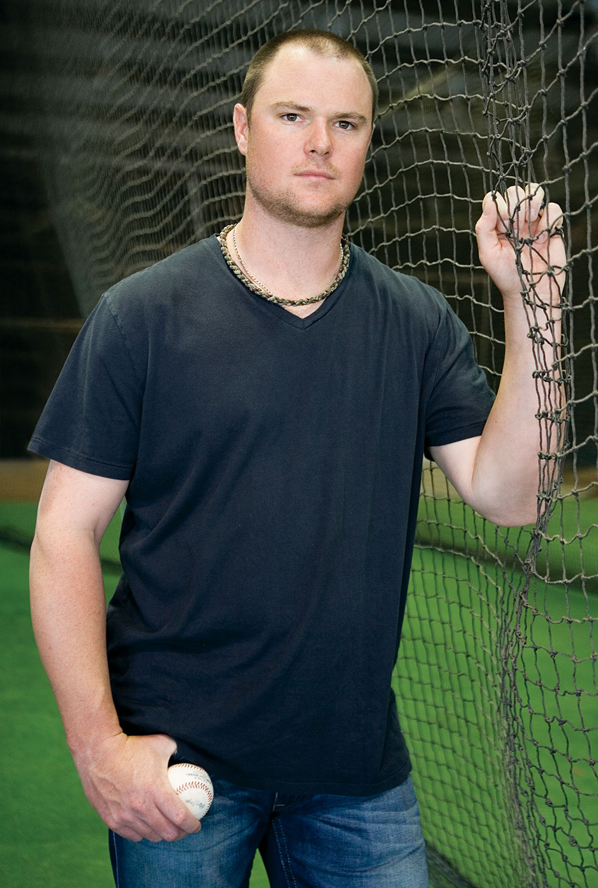 Jon Lester's job this year: lead the Sox to glory. / Photograph by Sadie Dayton.