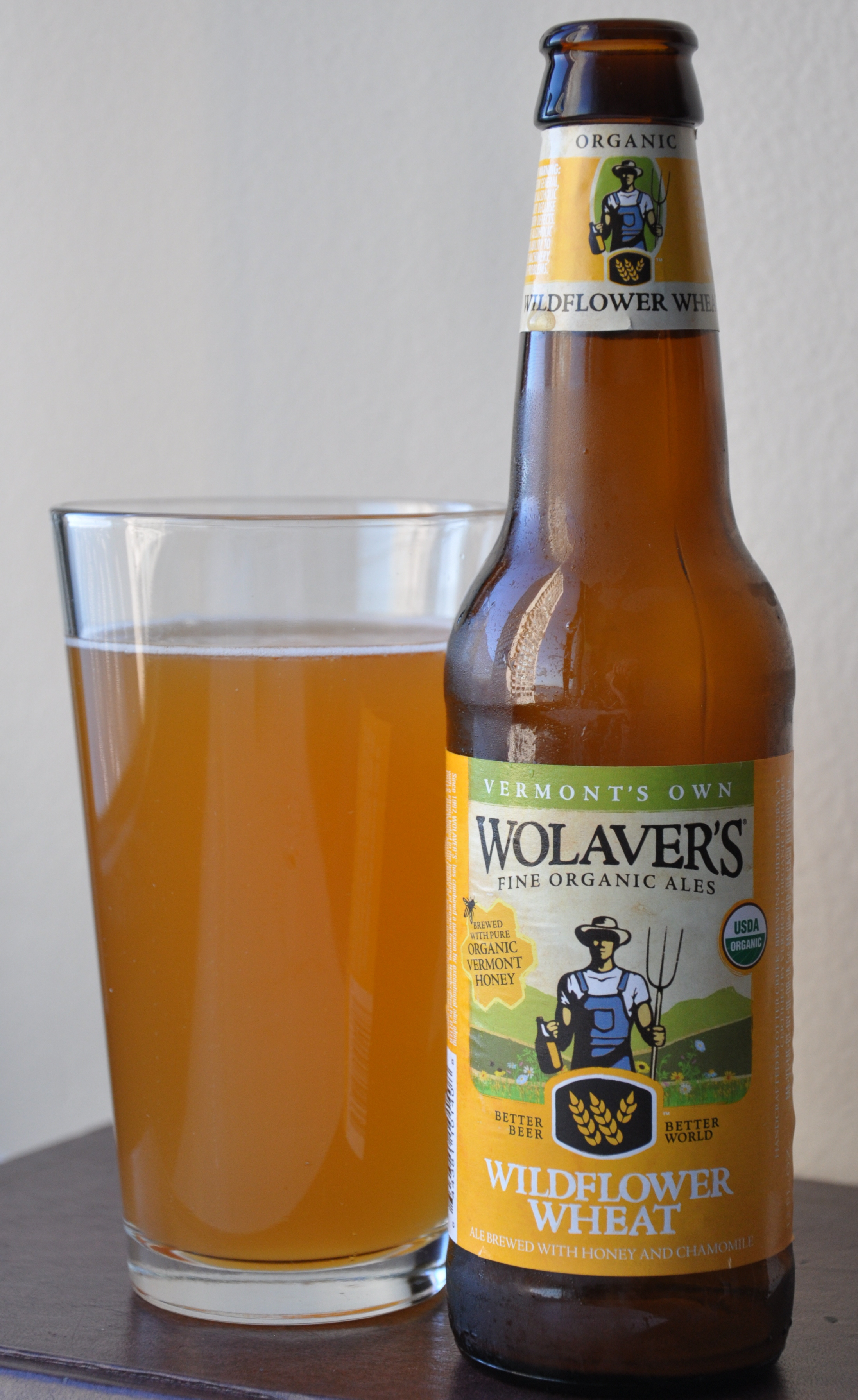 Beer Drinking Report: Wolaver's Rolls Out Wildflower Wheat