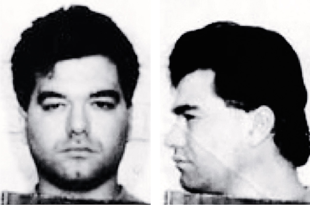 A mugshot of Enrico Ponzo, from an earlier era. Photograph courtesy of the Federal Bureau of Investigation.