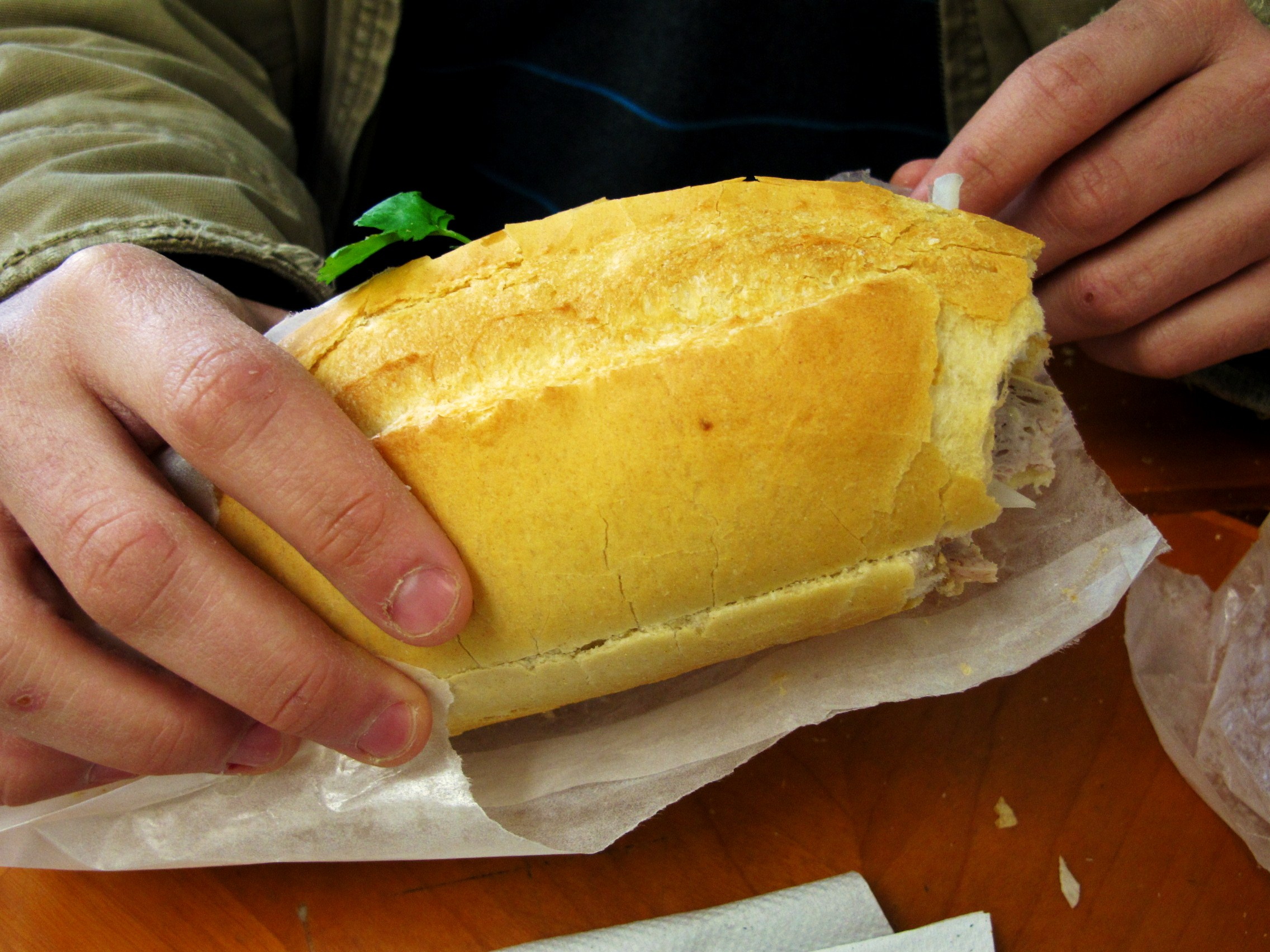 Man Food: Quest for the Ultimate Banh Mi