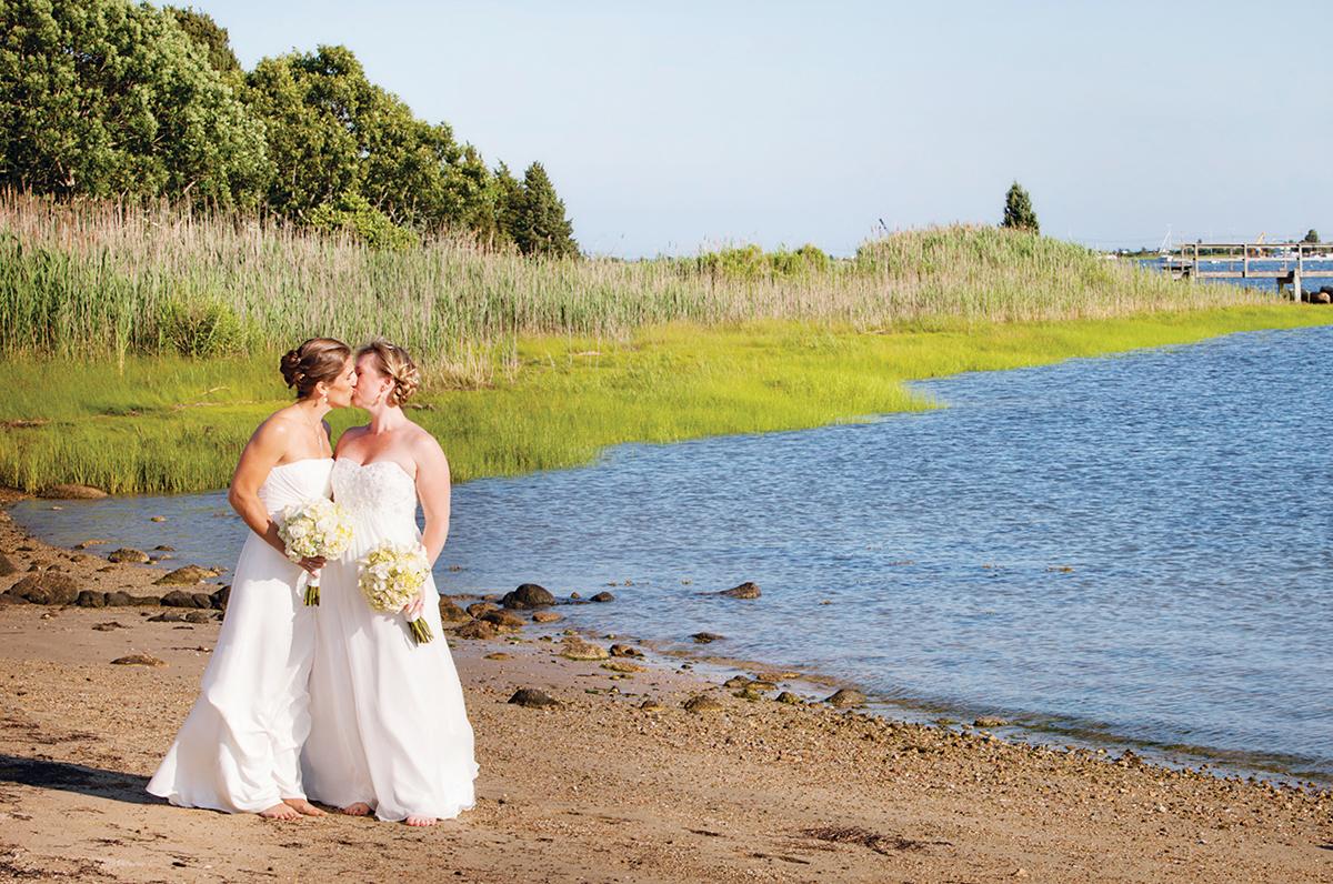 Real New England Weddings: Melissa Deland & Julie Bourquin – Boston ...