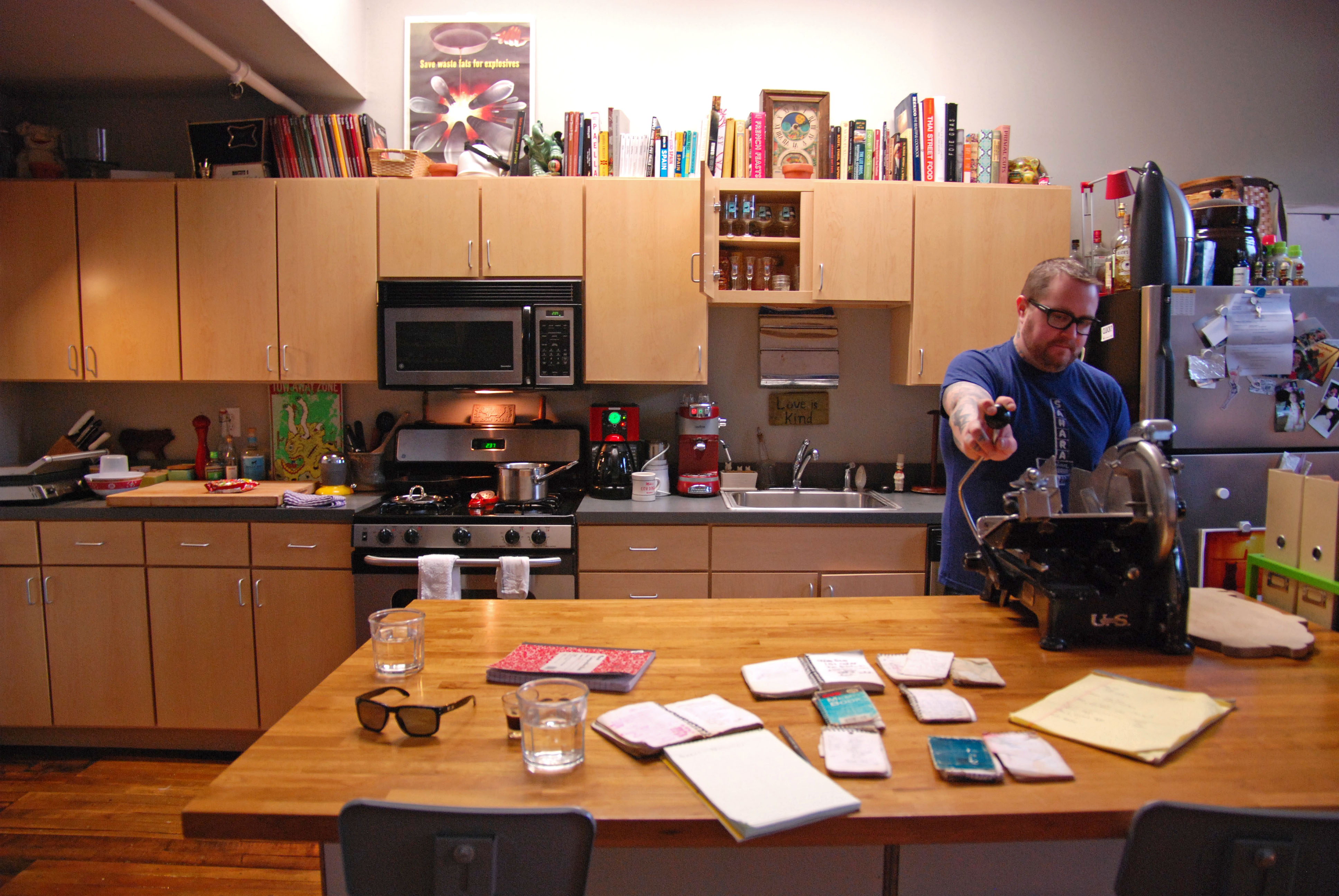 The Kitchen Spy A Look Inside Jamie Bissonnette S South End Pad