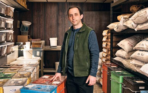 Modern Homebrew Emporium's brewer-in-chief Randy Baril