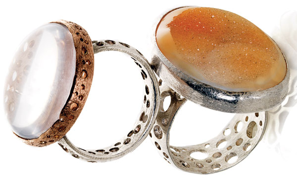 Jessica Hicks's Cocktail Rings
