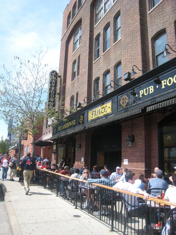 Lansdowne Pub next to Fenway