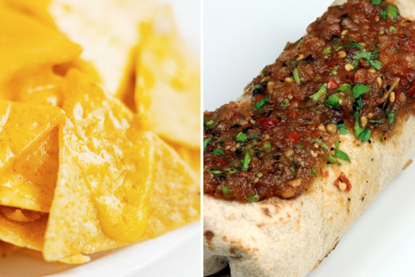 taco bell burrito nacho