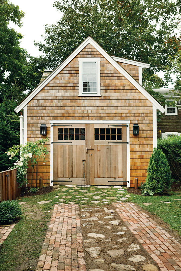 cottage garage ideas - The Rest is History