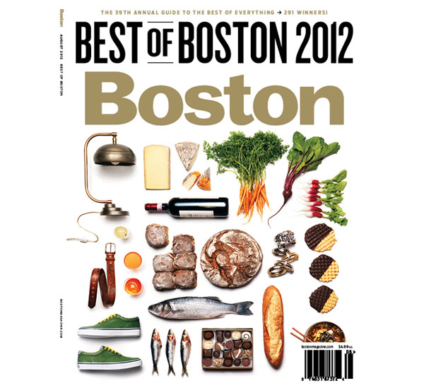 Boston Magazine Best of Boston Awards 2012