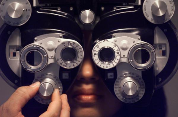 optometrist exam