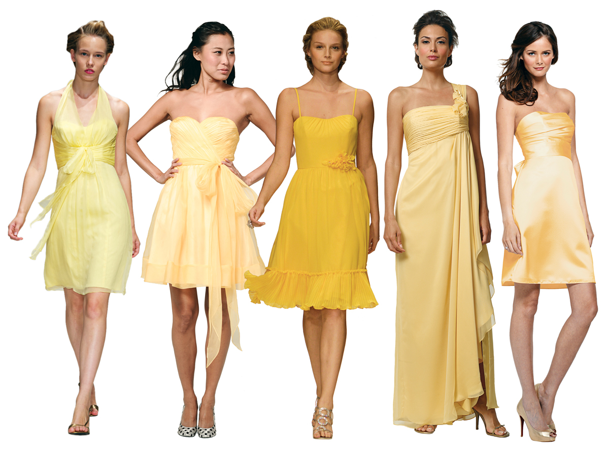 bridesmaid dress trends fall winter 2012