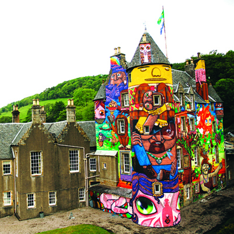 Kelburn Castle in Scotland