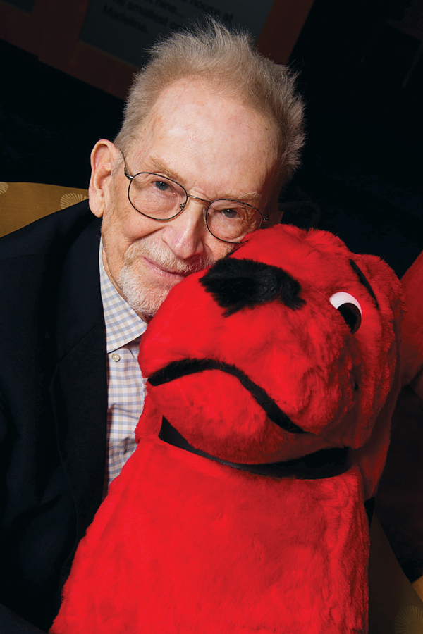 Clifford The Big Red Dog Turns 50 Interview With Norman Bridwell