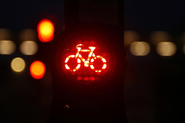 bike red light