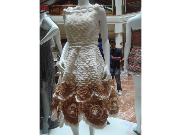 MassArt Wearable Art Non-Textile Fashion Designs