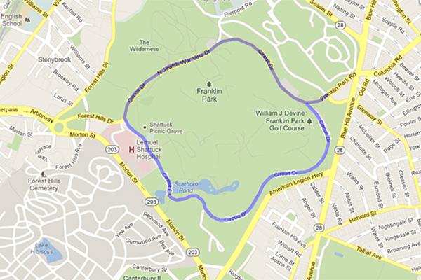 Run Franklin Park
