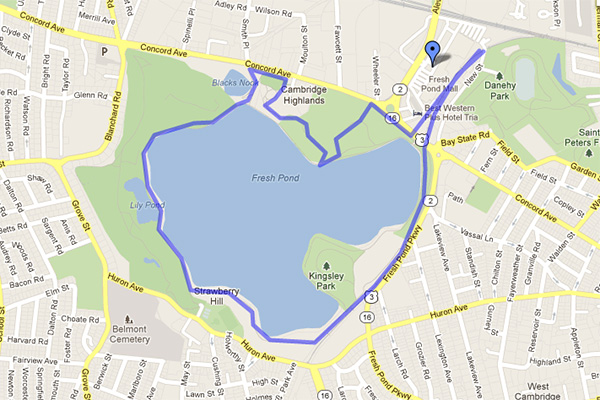 Run Fresh Pond