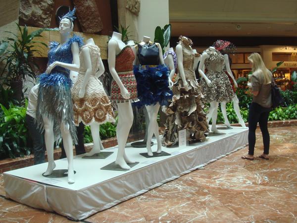 MassArt Wearable Art Non-Textile Fashion Designs