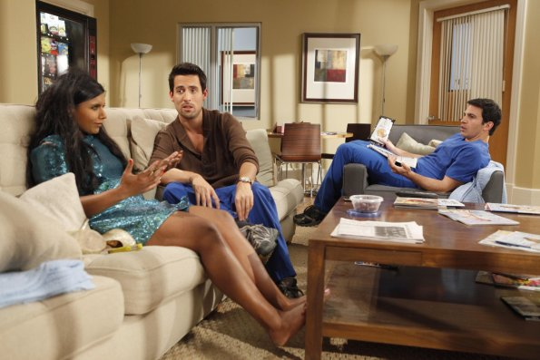 the mindy project scene