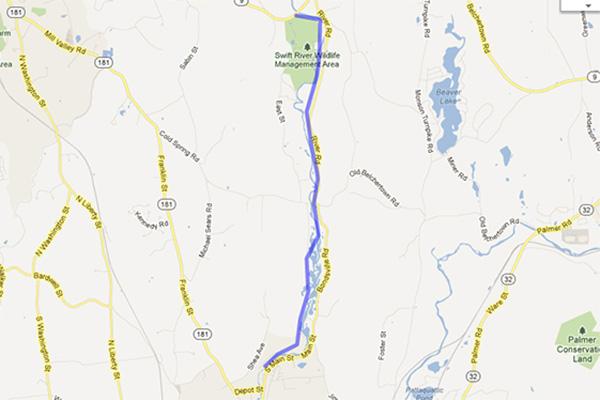 Run Ware River Trail