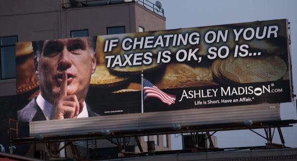 mitt romney billboard