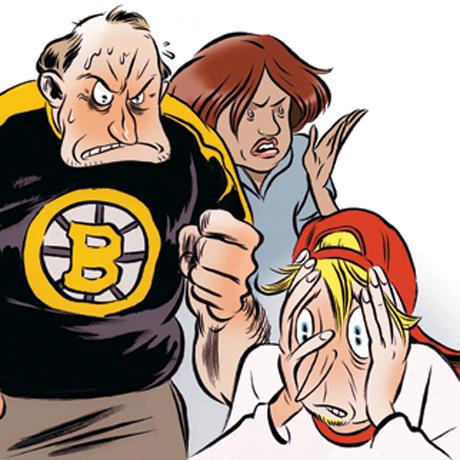 sports parents battle