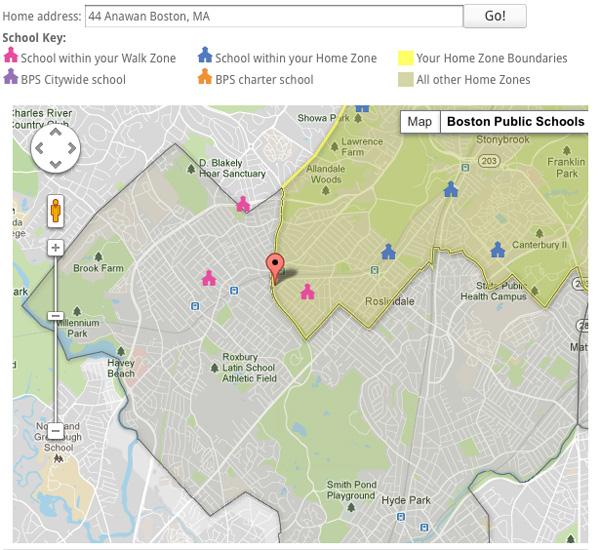 boston public school walk zones
