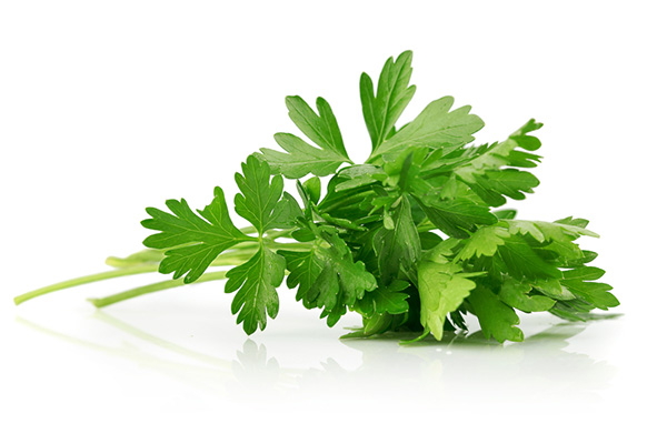 parsley for better breath