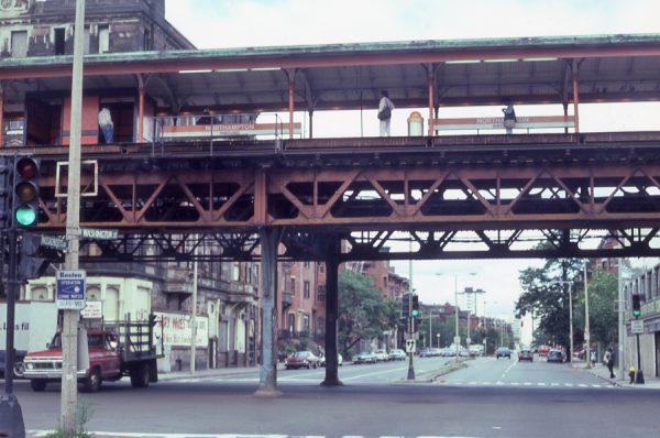 1950s Mbta Elevated Subway Map.11 Photos Of The Retro Orange Line