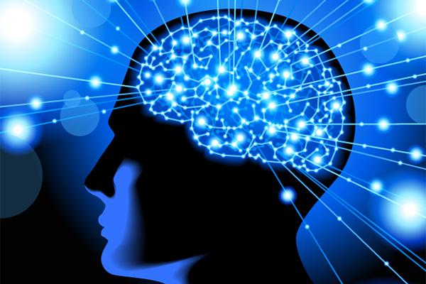 Brain neurons light