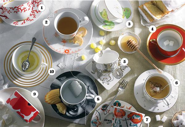 10 perfect teacups and tea sets