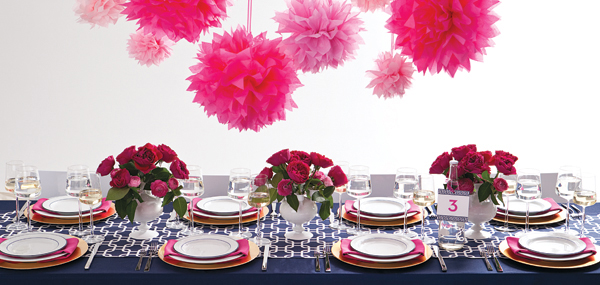 colorful wedding theme ideas