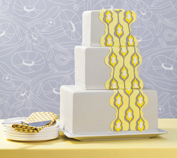 gray and yellow wedding theme ideas