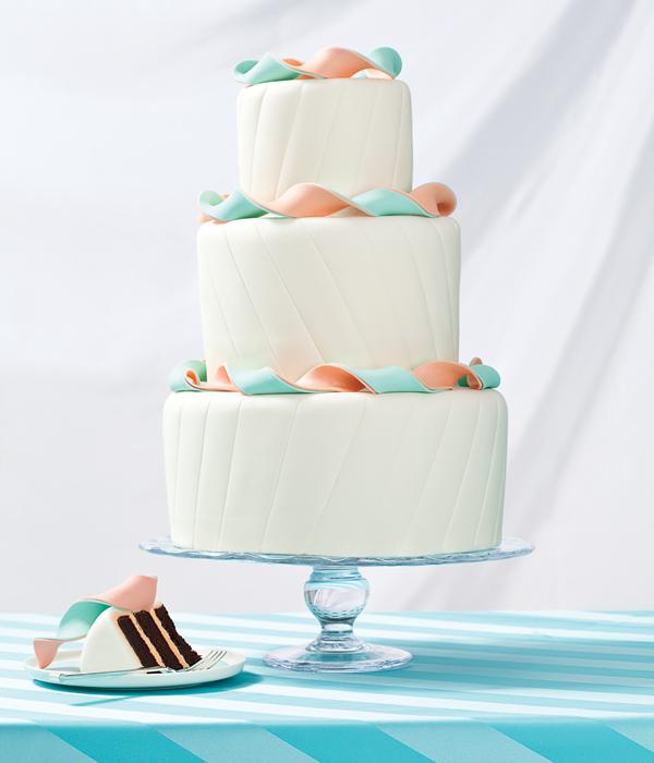 A Colorful Affair Light Orange And Aqua Wedding Theme
