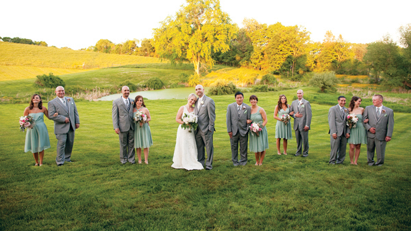 real new england wedding