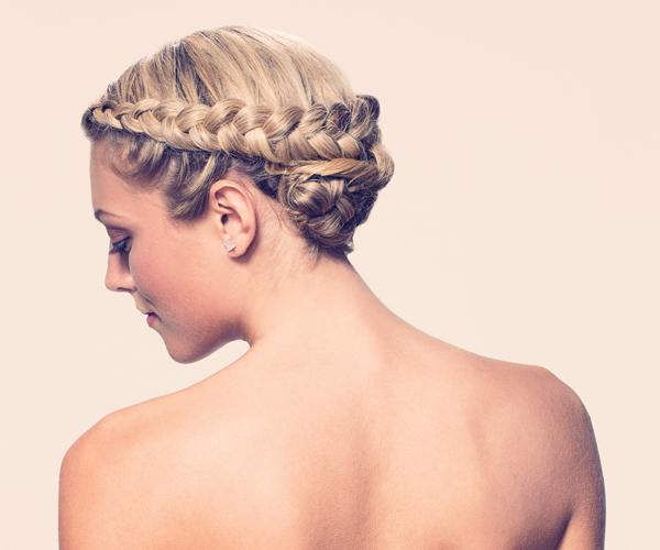 summer wedding hairdo