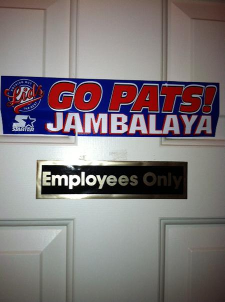 patriots jambalaya
