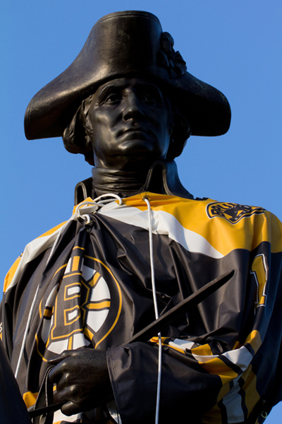 george washington bruins fan