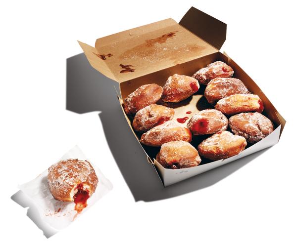 sufganiyot doughnuts
