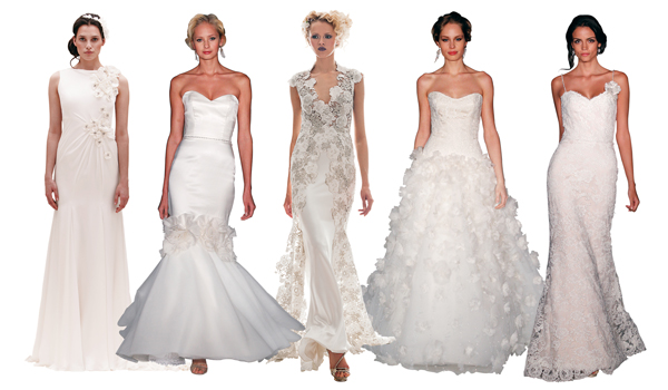 wedding dress trends spring summer 2013