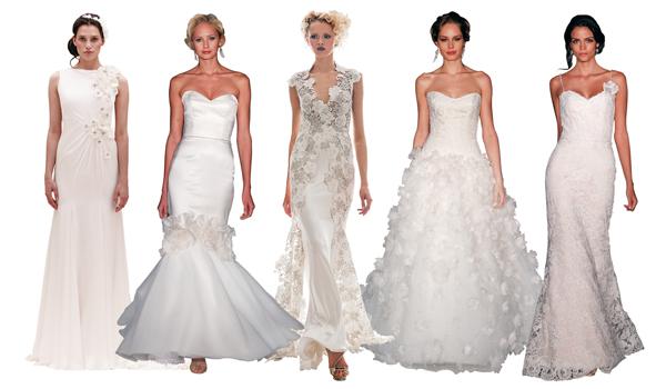 wedding dress trends spring summer 2013