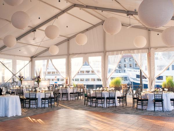wedding reception venues by water