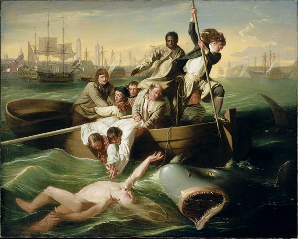 John Singleton Copley's Watson and the Shark